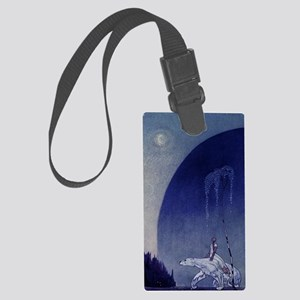 East o the Sun Journal Large Luggage Tag