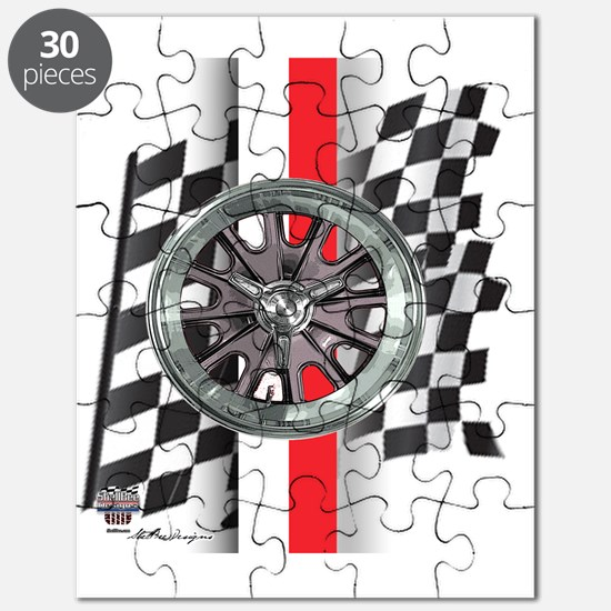 mag-red-white Puzzle