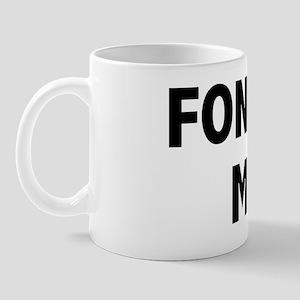 Fondle T-Shirt Mug
