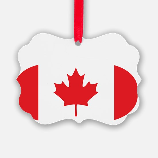 2-curlingCA Ornament