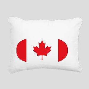 2-curlingCA Rectangular Canvas Pillow
