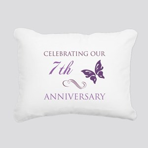 7th Wedding Aniversary (Butterfly) Rectangular Can