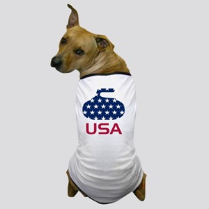 curlingUSA Dog T-Shirt