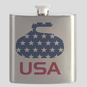 curlingUSA Flask