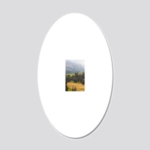 2-Rural 20x12 Oval Wall Decal