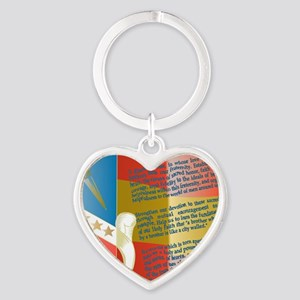 ADG-Background-4 Heart Keychain