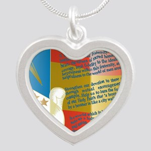 ADG-Background-4 Silver Heart Necklace