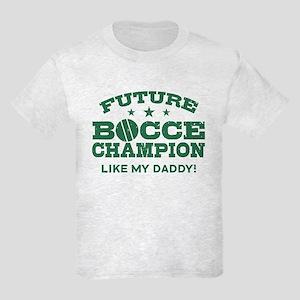 Future Bocce Champion Kids Light T-Shirt