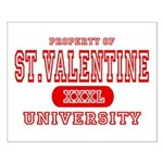 St. Valentine University Small Poster
