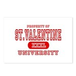 St. Valentine University Postcards (Package of 8)