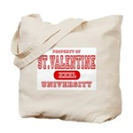 St. Valentine University Tote Bag