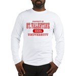 St. Valentine University Long Sleeve T-Shirt