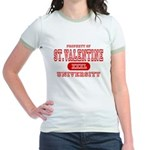 St. Valentine University Jr. Ringer T-Shirt