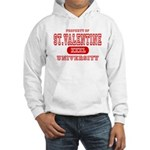St. Valentine University Hooded Sweatshirt