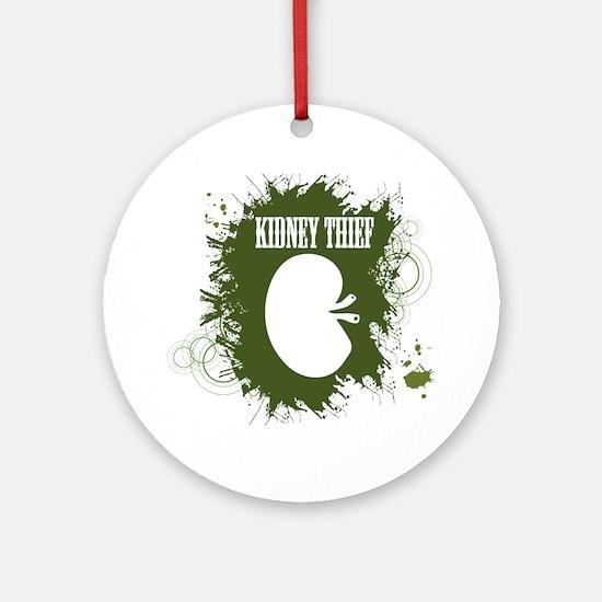kidney thief 2white Round Ornament