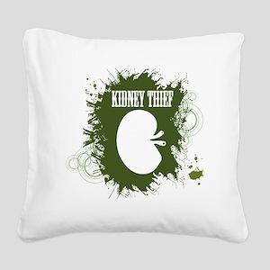 kidney thief 2white Square Canvas Pillow