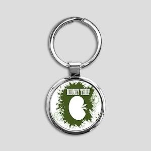 kidney thief 2white Round Keychain