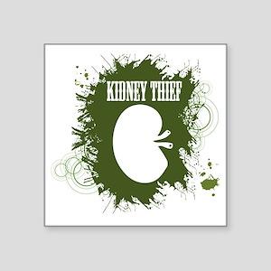 """kidney thief 2white Square Sticker 3"""" x 3"""""""