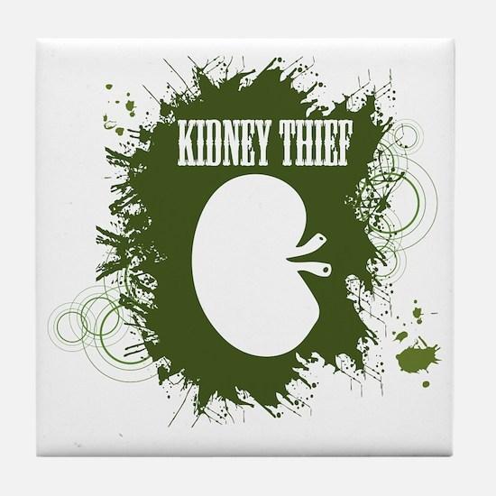 kidney thief 2white Tile Coaster