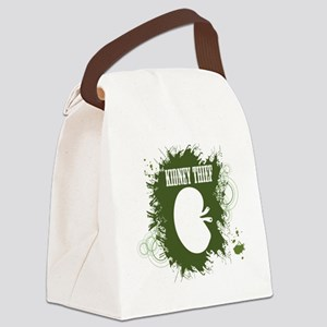 kidney thief 2white Canvas Lunch Bag