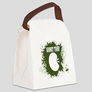 kidney thief 2white Canvas Lunch Bag