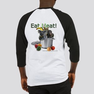 Vegetarians Are Evil Baseball Jersey
