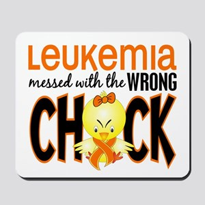 Leukemia Messed With Wrong Chick Mousepad