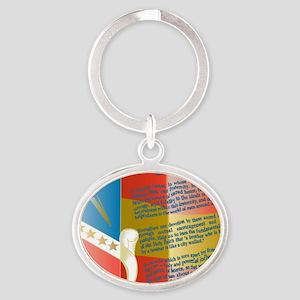 ADG-Background-4(enlongated) Oval Keychain