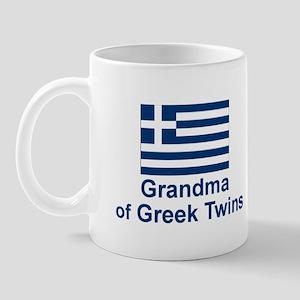 Greek Twins-Grandma Mug