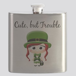 cute but trouble Flask