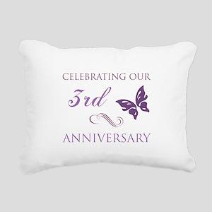 3rd Wedding Aniversary (Butterfly) Rectangular Can