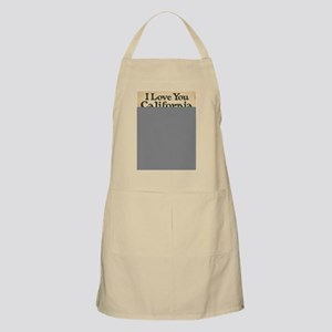 I Love You California Apron