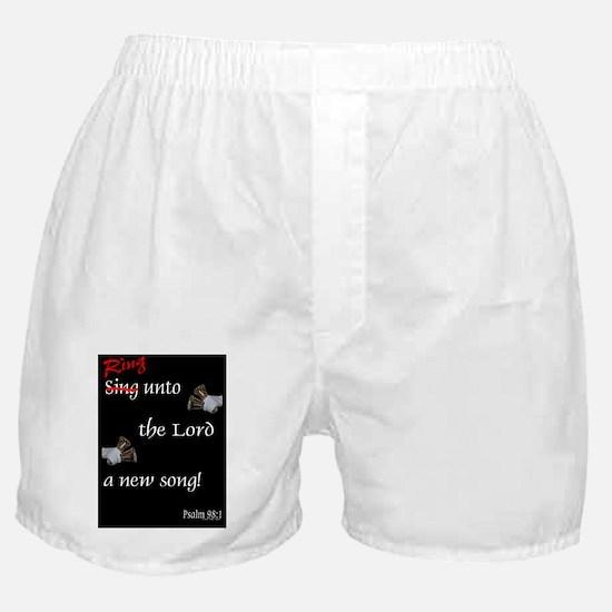 large framed print Boxer Shorts