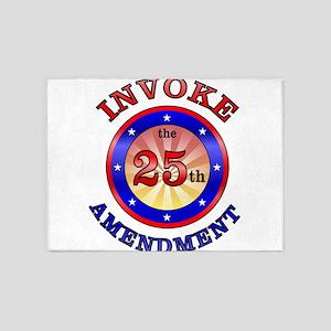 Invoke The 25th Amendment 5'x7'Area Rug