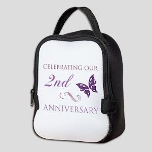 2nd Wedding Aniversary (Butterfly) Neoprene Lunch