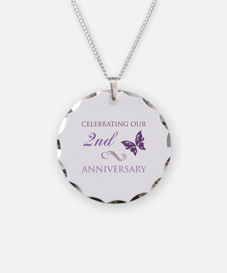 2nd Wedding Aniversary (Butterfly) Necklace