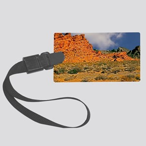 Valley of Fire Postcards, Note C Large Luggage Tag