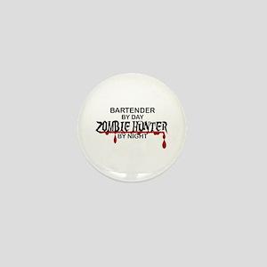 Zombie Hunter - Bartender Mini Button