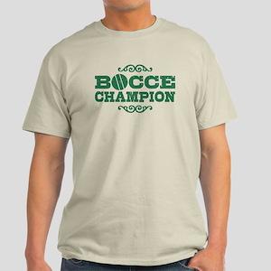 Bocce Champion Light T-Shirt