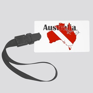 Australia Diver Large Luggage Tag