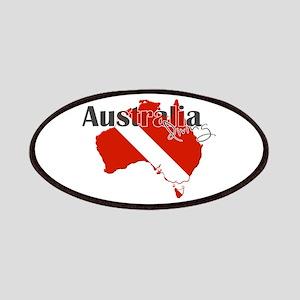 Australia Diver Patches