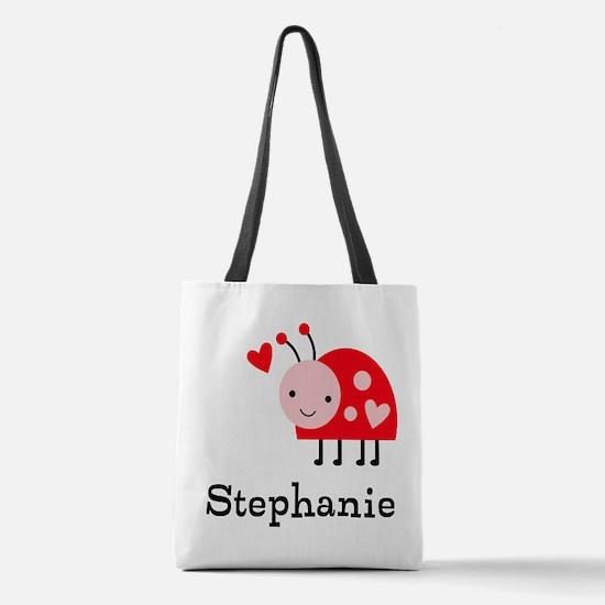Ladybug (p) Polyester Tote Bag
