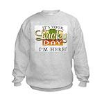 Your Lucky Day Kids Sweatshirt