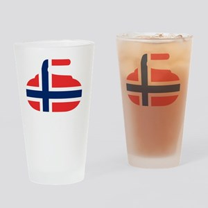 4-curlingNOw Drinking Glass