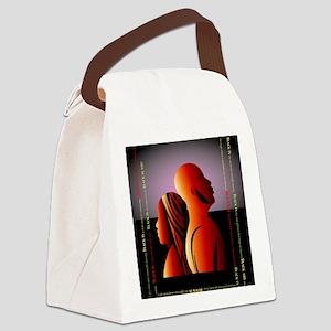 blackis10x10 Canvas Lunch Bag