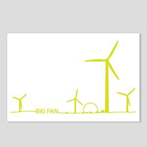 5-Big Fan Postcards (Package of 8)