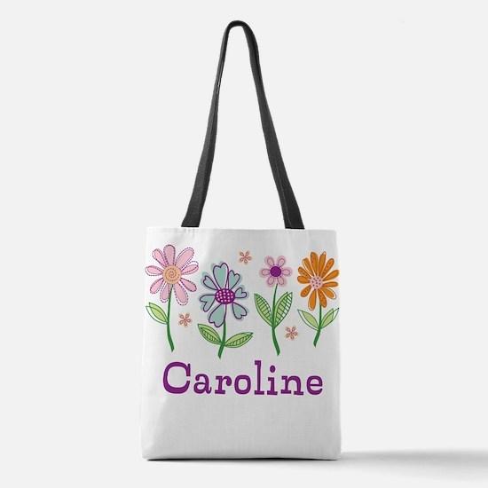 Daisy Garden Polyester Tote Bag