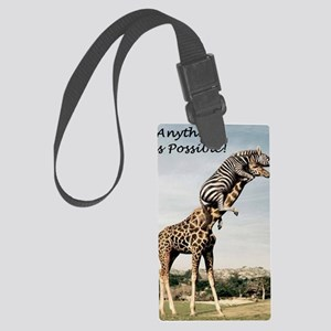 Anything is possible Large Luggage Tag