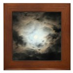 Ring Around the Moon Framed Tile