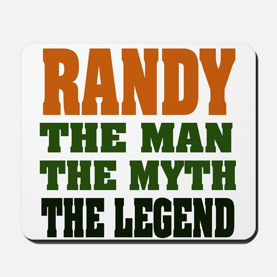 RANDY - the legend! Mousepad